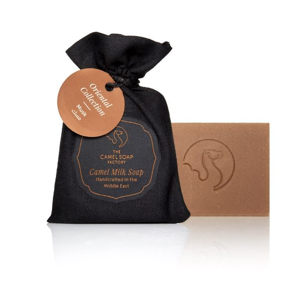 The Camel Soap Factory – Natural Camel Milk Skincare – Natural Camel Milk Luxury Oriental Soap – Musk