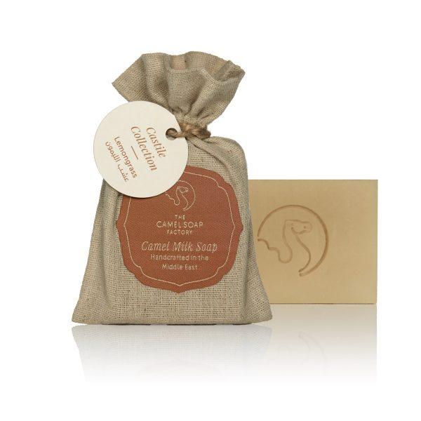 The Camel Soap Factory – Natural Camel Milk Skincare – Castile Collection – Lemongrass