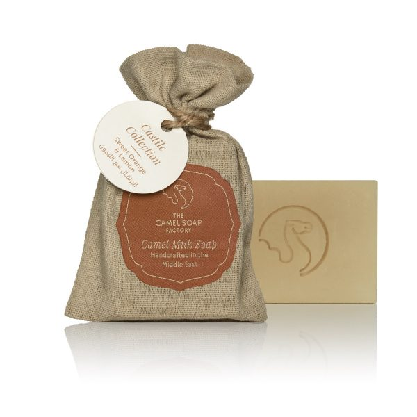The Camel Soap Factory – Natural Camel Milk Skincare – Castile Collection – Sweet Orange and Lemon