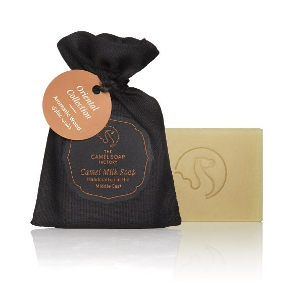 The Camel Soap Factory – Natural Camel Milk Skincare – Natural Camel Milk Luxury Oriental Soap – Aromatic Wood