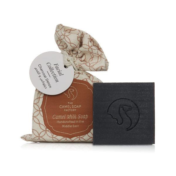 The Camel Soap Factory – Natural Camel Milk Soap – Facial Collection – Charcoal Detox